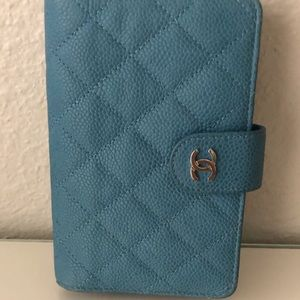 Chanel L Zip Caviar Wallet